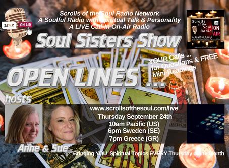 Soul Sisters Show Thursday September 24th 2020
