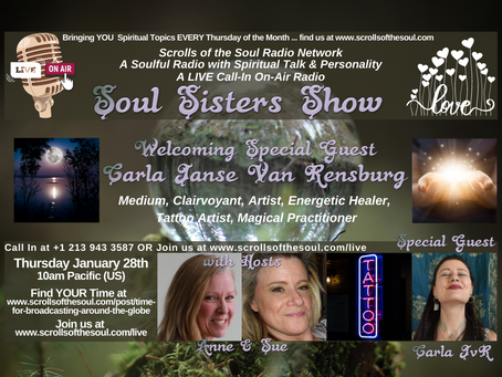 Soul Sisters Show Thursday January 28th 2021