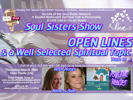 Sisters Show Thursday March 25th 2021