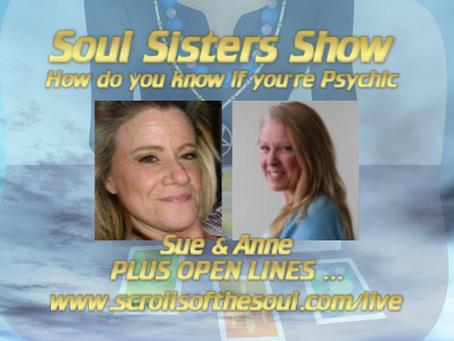 Soul Sisters Show Thursday August 22nd US/EU & Friday August 23rd AU 2019