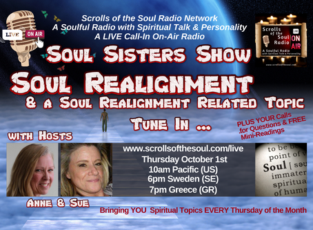 Soul Sisters Show Thursday October 1st 2020