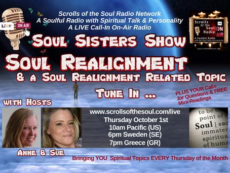 Soul Sisters Show Thursday October 1st 2020