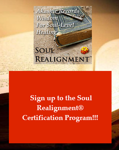 Sign up Soul Realignment Certification