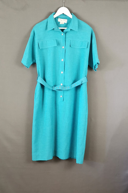 Sea-foam Green Shirt Dress