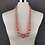 Thumbnail: Blush Pink beaded Necklace