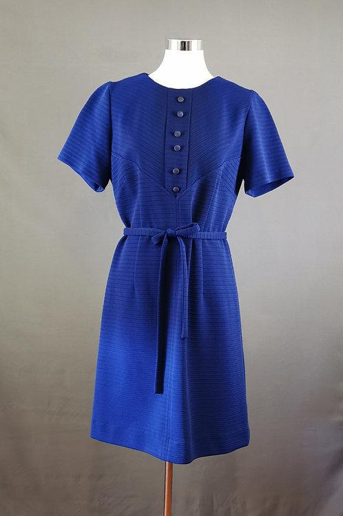 Admiral Blue Mod Dress
