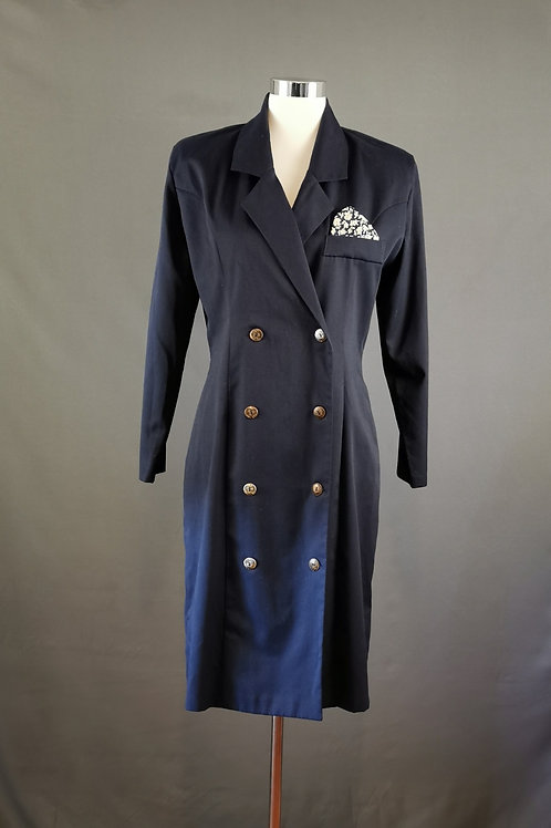 Navy Power Dress