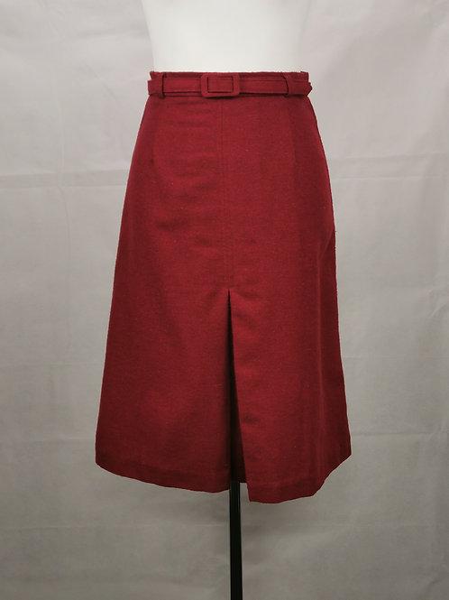 Red Woolen Skirt