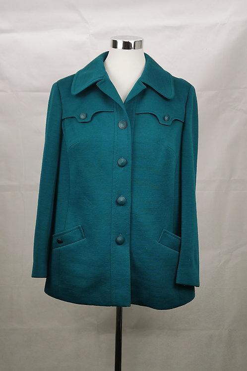 Emerald Retro Jacket