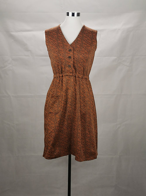 Brown Retro Tunic
