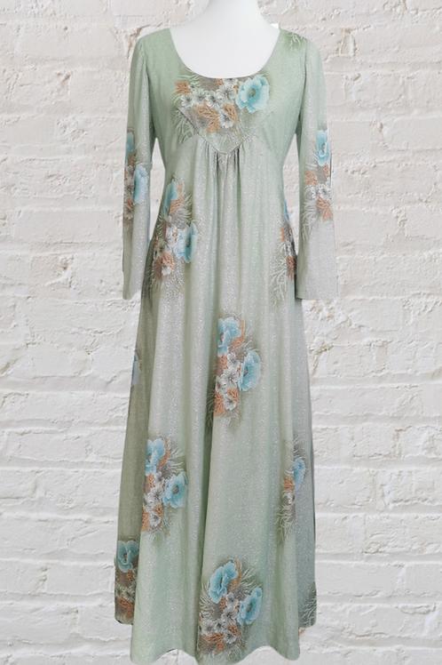 1960's Minty Sparkle Dress