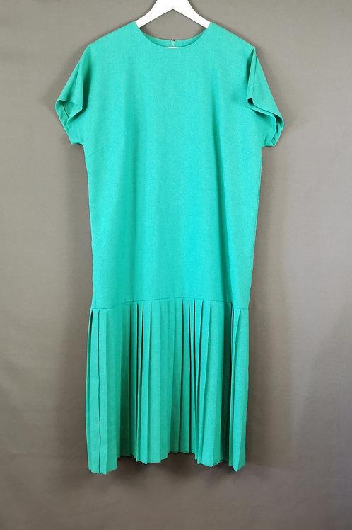 Mint Green Drop Waist Dress