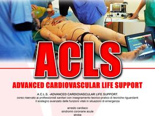Prossimi Corsi: ACLS 22-23 Luglio (scadenza iscrioni 30 giugno; posti limitati)