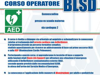 Corso BLSD+PBLSD  8-9 Giugno 2019
