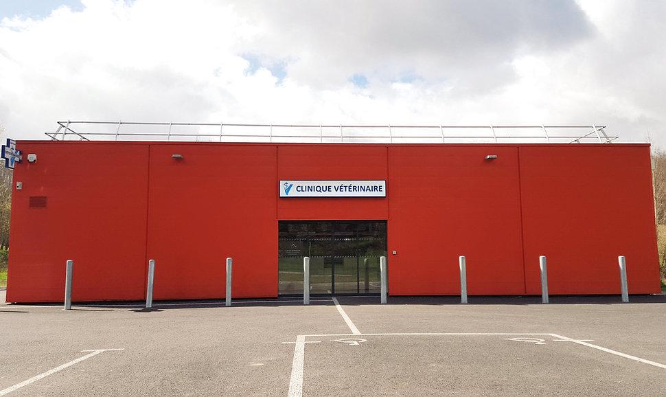 façade clinique veterinaire sud quercy Lafrançaise Tarn et Garonne 82