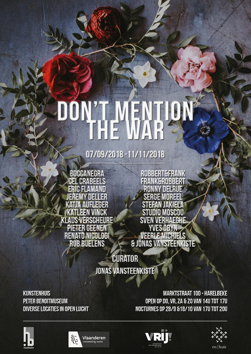 don't mention the war, kunstenhuis Harelbeke