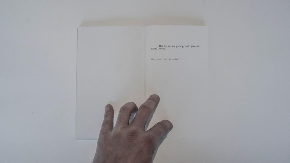 Publicatie: Sven Verhaeghe en Roderik Six,  'MEMOIRES VAN EEN MEELOPER'