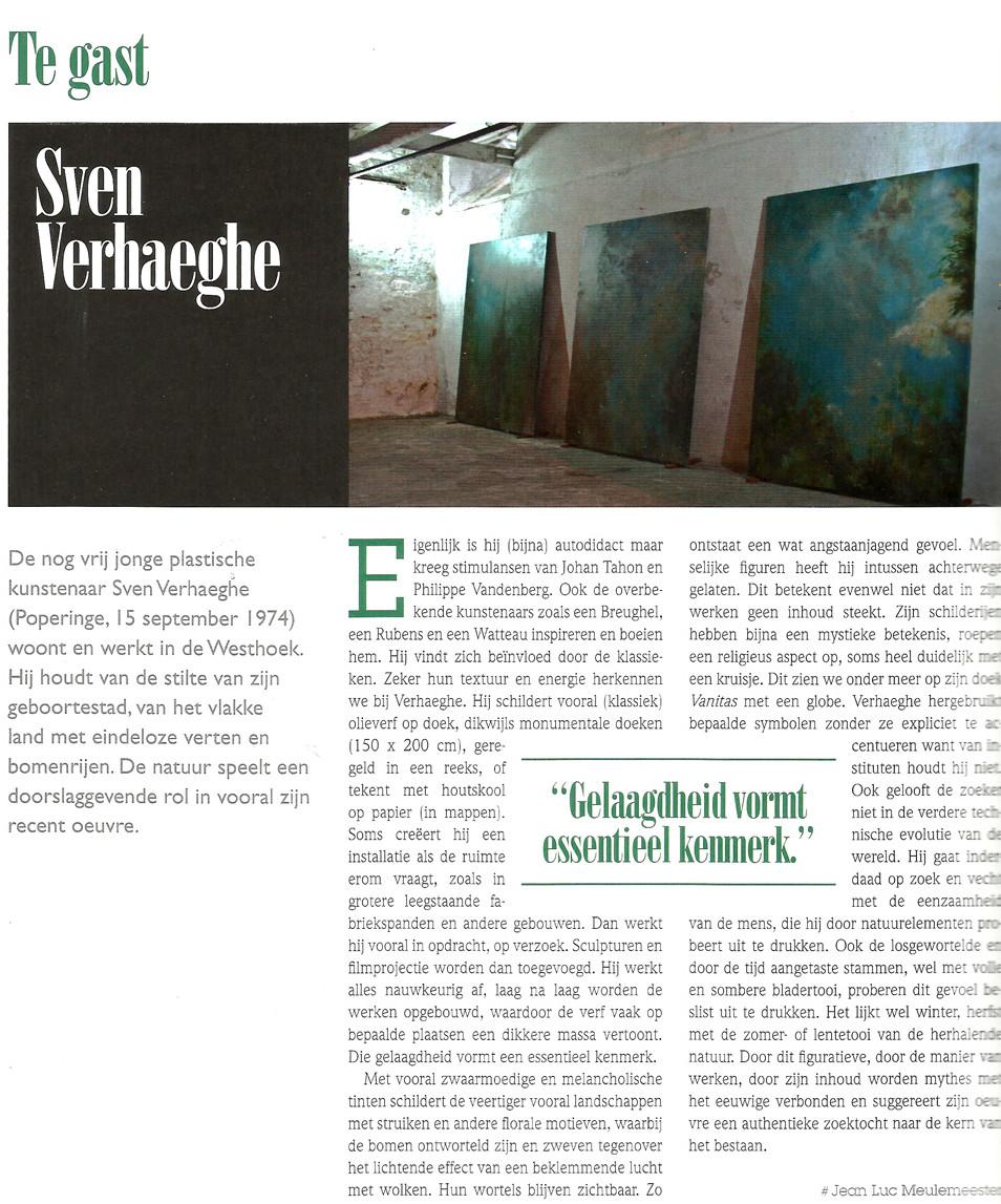 Te Gast / Kunsttijdschrift Vlaanderen