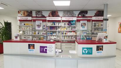 accueil comptoir clinique veterinaire