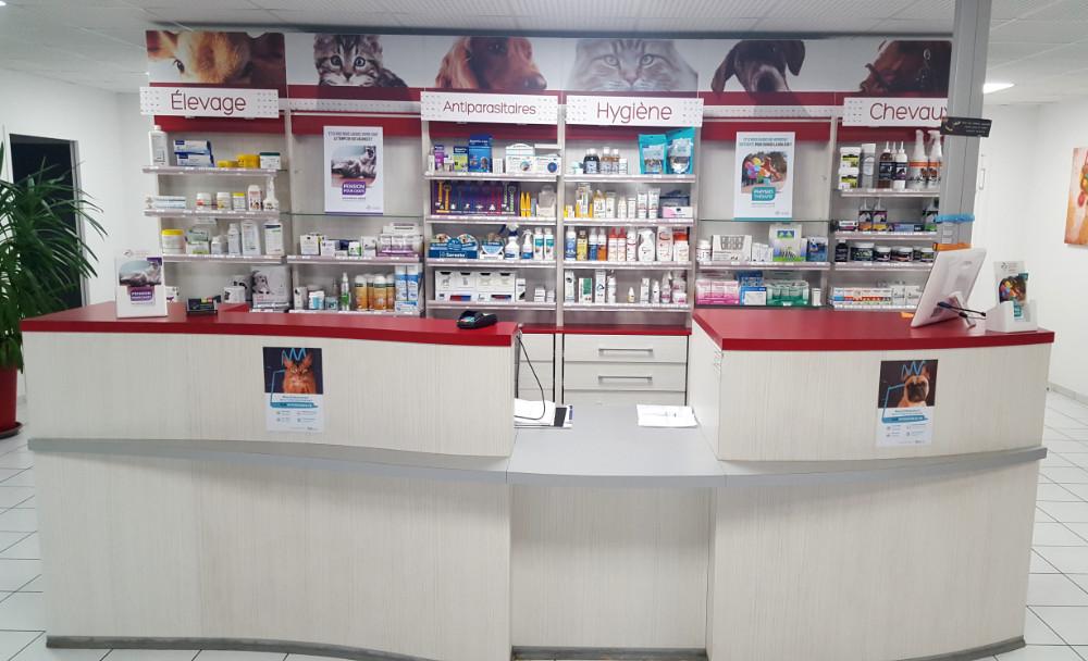 comptoir accueil clinique veterinaire sud quercy