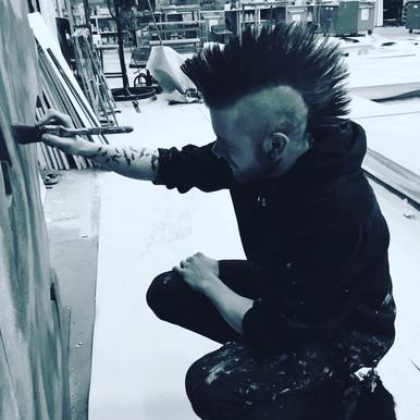 Hand Painting Scenery