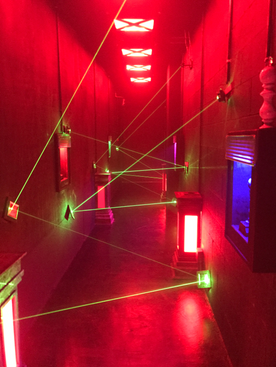 Laser Maze Attraction
