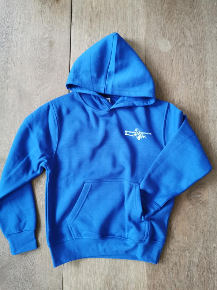 hoodie kids 'royal blue'