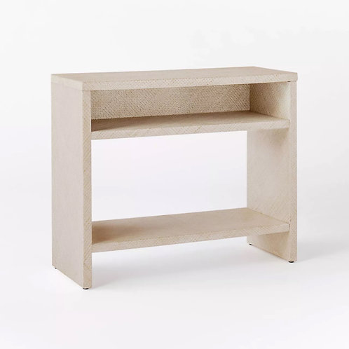 Fountain Valley Pandan Wrapped Console Table White - Threshold™