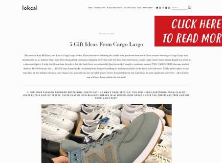 5 Gift Ideas From Cargo Largo