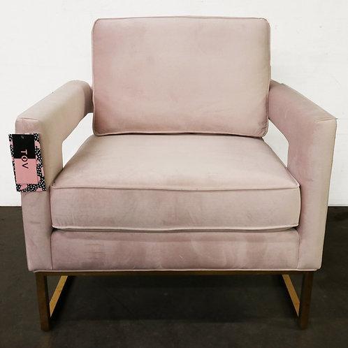 TOV Furniture Avery Velvet Club Chair