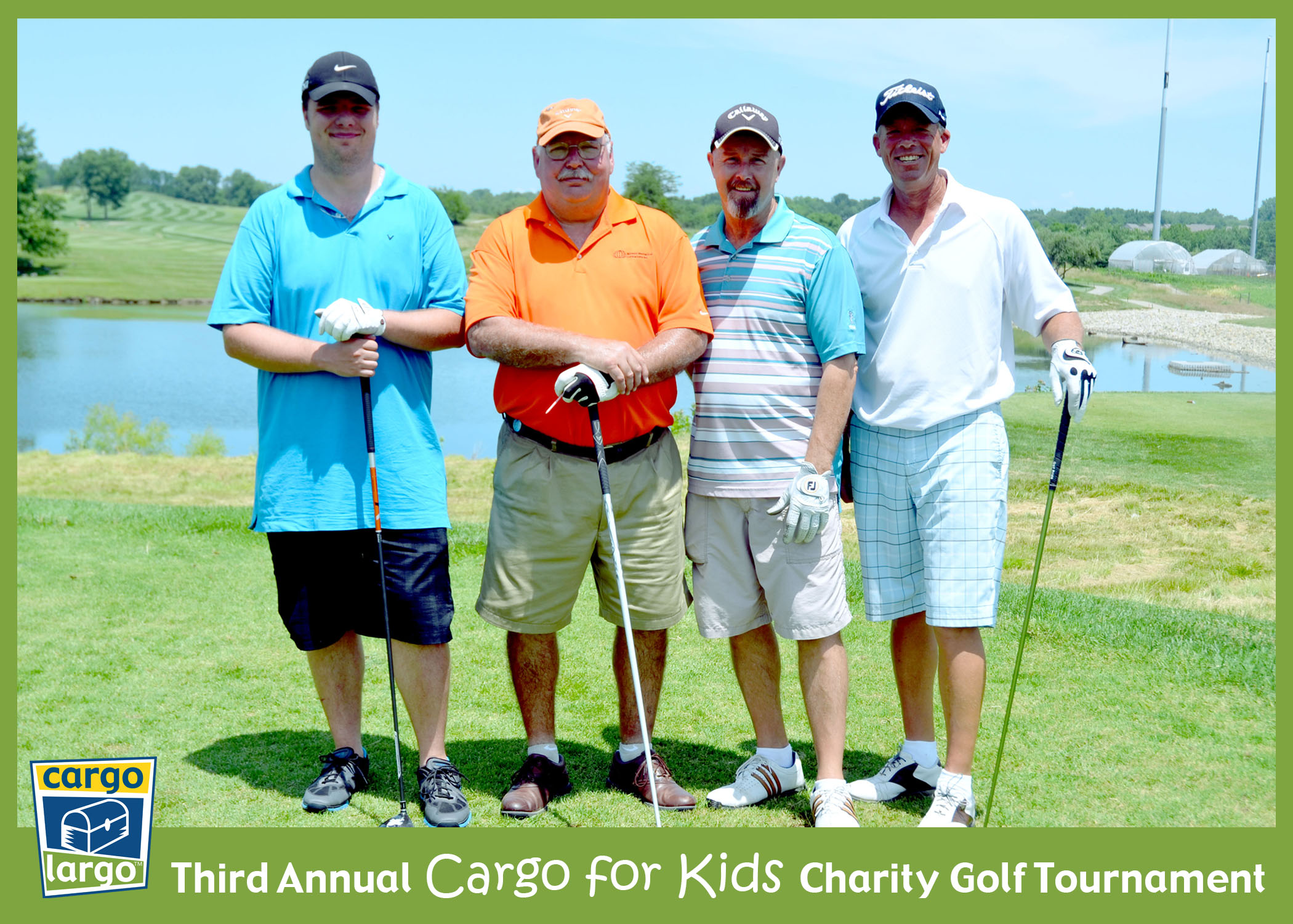 4 Single Golfers