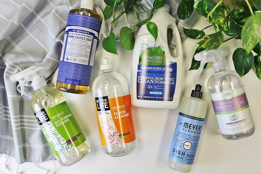 All-natural cleaning supplies from Cargo Largo