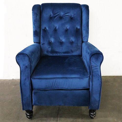 Toddman High-Back New Velvet Club Chair - Christopher Knight Home