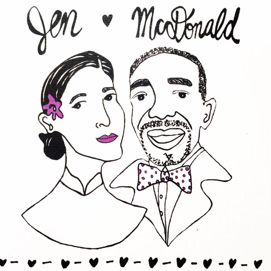 JEN & MCDONALD WEDDING