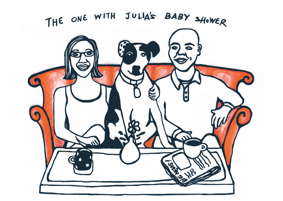 JULIA'S FRIEND'S BABY SHOWER