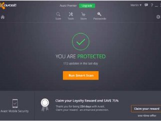 Avast's 2016 security solutions pack in the free features