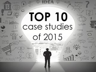 Top 10 case studies of 2015