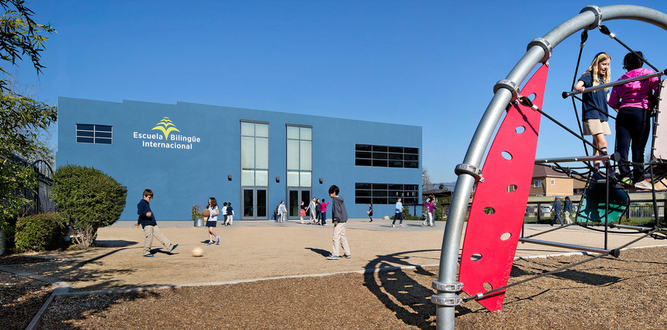 New Entrance and Play Area