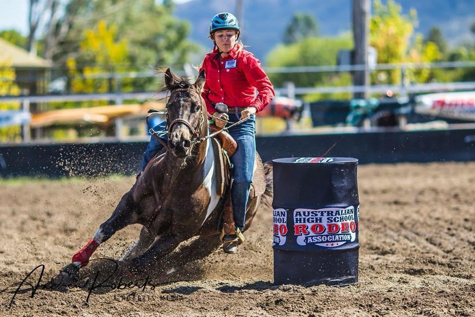 Rodeo Queen Tyler Plamer