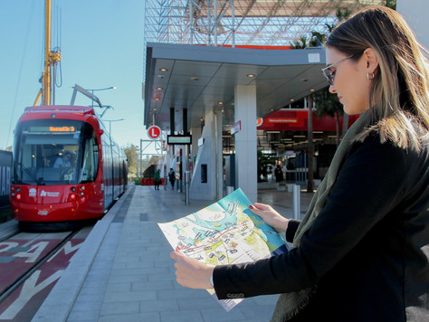 AHA launches light rail venue map