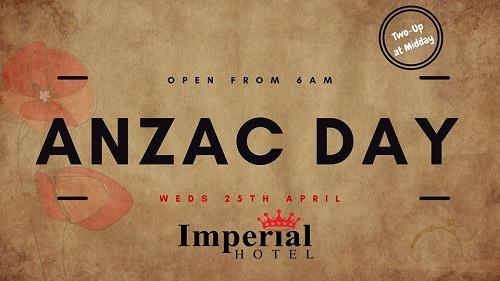 ANZAC Day Singleton