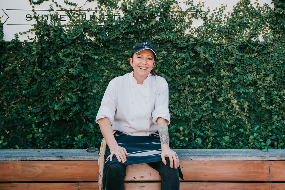 Head chef at Sydney Junction Hotel, Kylie Foster
