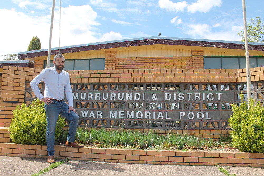 Murrurundi Pool open thanks to Royal Hotel operator in the Upper Hunter