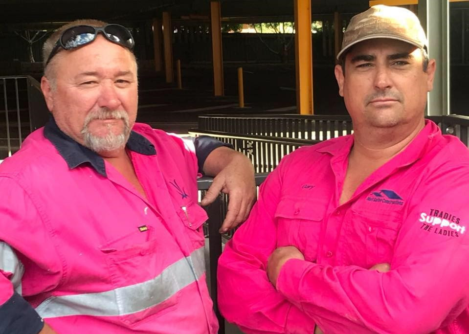 Tradies Support the Ladies
