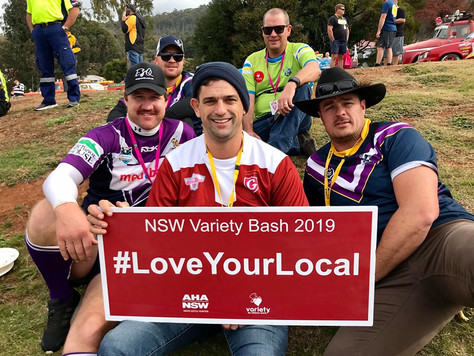 AHA and the NSW Variety Bash raise more than $1 million for kids in need