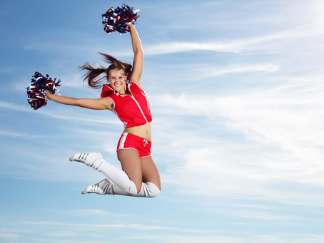 Lesson Three - Ready... okay! Why becoming your own cheerleader is a vital part of the process