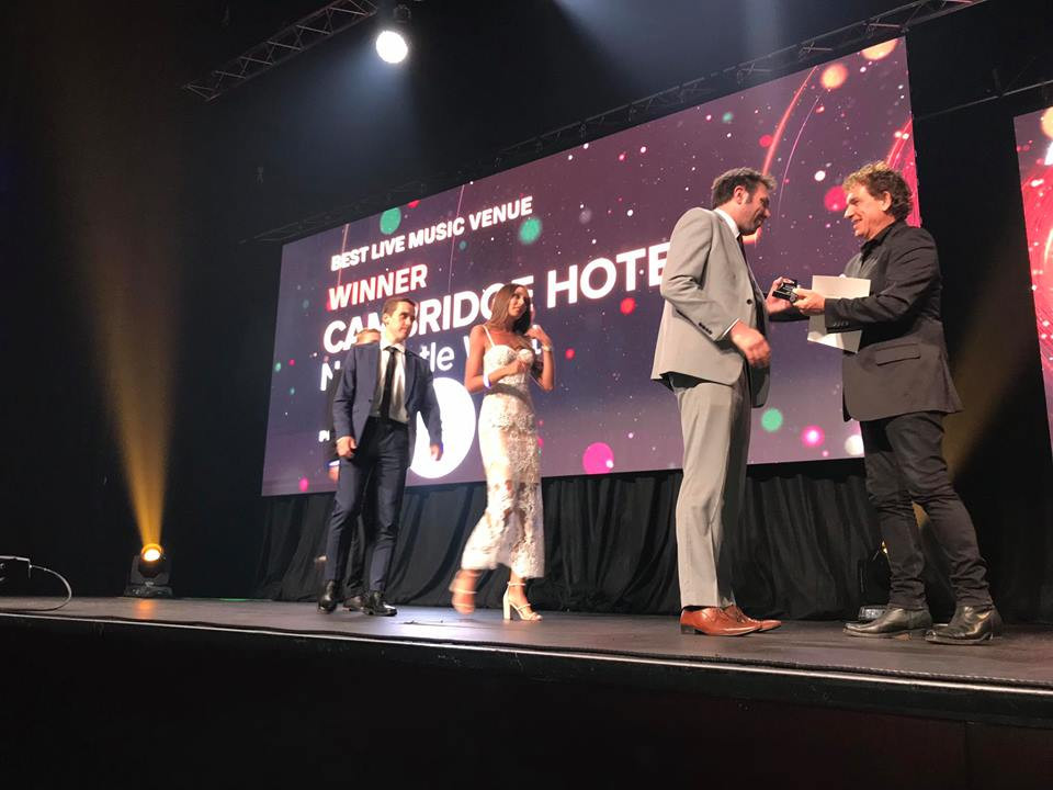 Best Live Music Venue in NSW - The Cambridge Hotel Newcastle