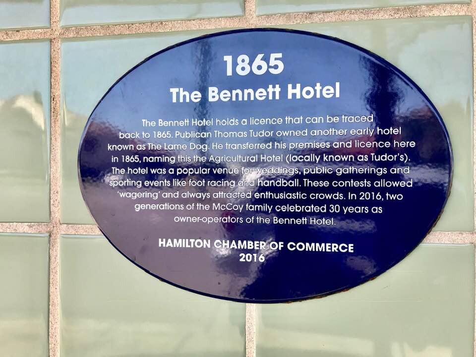 The Hotel Bennett at Hamilton