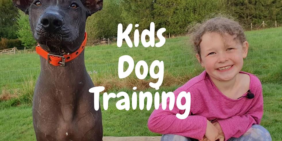 Online Kids Dog Training - Instant access  - start anytime