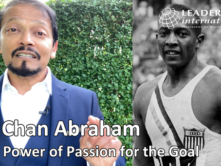The Power of Passion for a Goal